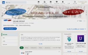 GELAB GROUP LinkedIn